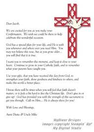 16 Best Confirmation Letter Images Catholic Confirmation Letter