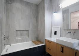 Beautiful subway tile bathroom remodel renovation Basement Bathroom Image The New York Times Renovating Bathroom Experts Share Their Secrets The New York Times