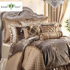 Designer Bedding Collections Discount Jennifer Taylor Legacy 10 Pcs Comforter Set Oversize King