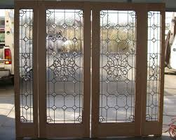 double entry doors with glass beveled glass doors windows custom entry glass