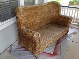 Cushions Wicker Settee Cushions For Cozy Your Furniture Ideas