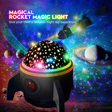 Outer Space Light Projector Star Projector Night Light For Kids Baby Night Light Projector For Bedroom With Timer Remote And Chargeable Best Gift For Kids Upgrade Version