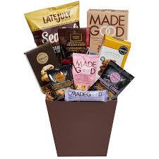 peanut free gift basket