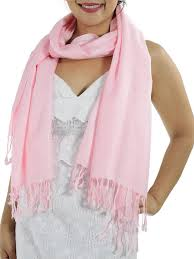 Light Pink Pashmina Pink Pashmina