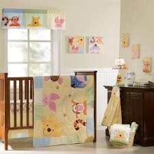 bedding sets disney image disney baby king pooh friends 7 piece crib set
