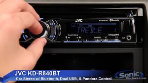 jvc kd rbt car stereo w bluetooth dual usb connections jvc kd r840bt car stereo w bluetooth dual usb connections