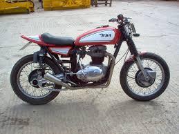 1972 bsa thunderbolt custom hill climber bikebound BSA Cafe Racer at Bsa A65 Wiring Harness Routing