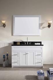 bathroom vanity black. Ace 49 Inch Transitional Single Sink Bathroom Vanity Black Granite Top B