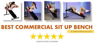 Pure Fitness Ab Crunch SitUp BenchBench Ab V Ups