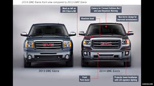2014 Gmc Sierra Interior Lights 2014 Gmc Sierra Front View Comparison Wich 2013 Model Hd