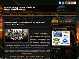 in s creed syndicate keygen free serial code hack for games games cheats for games android games