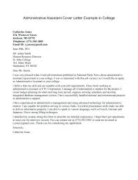 Executive Assistant Cover Letter Examples Cover Letter Executive Pohlazeniduse