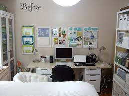 bedroom office combination. Top Bedroom Office Makeovers Curbly Diy Design Combination N