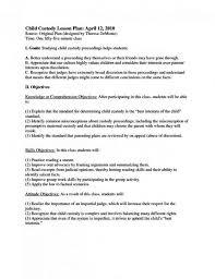 child visitation agreement form a workable child custody amp visitation agreement example mandegar