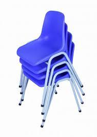 blue school chair. School Chair Grade 1-3 (35cm H), Blue Set Of 10