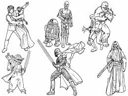 Small Picture Star Wars Coloring Book Pdf Coloring Pages Kids