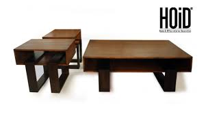 1 oak coffee table 2 matching side table