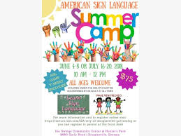 American Sign Language Summer Camp West Cobb Ga Patch