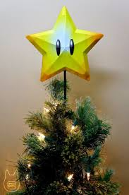 Otaku Crafts: Mario Super Star Tree Topper (Papercraft)  Diy ...