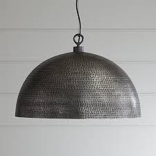 crate and barrel exclusive rodan pendant light