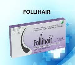 follihair tablet uses dosage side