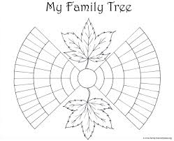 Genealogy Family Tree Forms Family Tree Template Resources