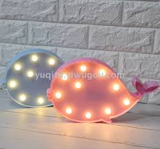 ins hot style whale lion panda chandelier colorful rainbow erfly diamond shaped lamp creative light night