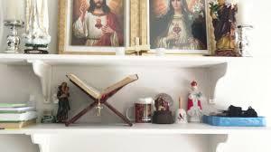Modern Catholic Altar Designs For Home Home Altar Catholic Home Inspired Catholic Living
