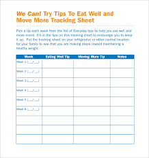 11 Tracking Sheet Template Word Excel Pdf Free Premium