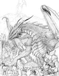 Realistic Dragon Coloring Pages Beautiful Realistic Dragon Coloring