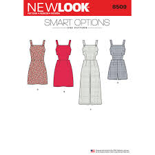 Women's Romper Pattern Custom Womens Jumper Romper And Dress With Bodice Variations New Look