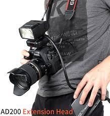 <b>Кабель</b> выносной сетевой Godox ЕС200 для вспышки AD200Pro ...