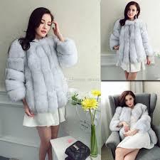 caf428 new women luxury faux fur coat s 2xl fluffy coat fake fur coats gy coat fluffy coat fake fur coats faux fur coat women with