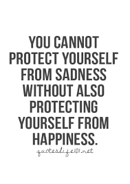 Quotes On Defending Yourself Best of You Cannot Protect Yourself From Sadness Without Also Protecting