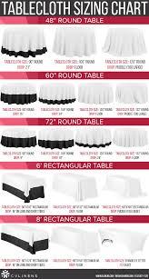 choosing the right tablecloth size cv linens design blog