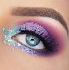 to create this colorful look i first went in with makeupgeek eyeshadows curfew carnival fashion addict in my crease