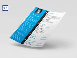Modern Resume Template Free Download Word Modern Cv Template Word Free Download Resumekraft