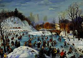 skatingincentralpark1934kovner