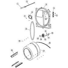 crosley crosley laundry parts model cde6500w sears partsdirect tumbler