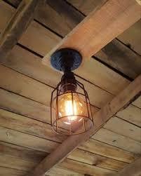 rustic industrial lighting. industrial lighting ceiling pendant iron pipe light edison bulb machine age steampunk barn rustic