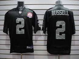 Russell Nfl Patch Cheapest Anniversary With Jersey Jamarcus Shipping Free Raiders Black Afl 2 Stitched Sale 50th