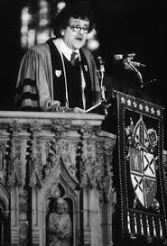 kurt vonnegut fates worse than death nypr archives writer kurt vonnegut jr wearing academic robes giving a sermon in a