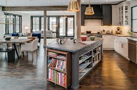 amazing kitchen islands. view in gallery kitchen island for those who love their cook books! [design: bay cabinetry \u0026 amazing islands