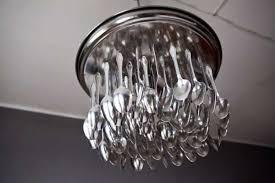 repurposed lighting fixtures. Repurposed Light Fixture From Spoons Lighting Fixtures N