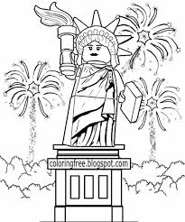 Statue Of Liberty Coloring Pages. Great Statue Of Liberty Coloring ...