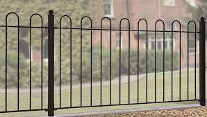 court metal garden fencing panels