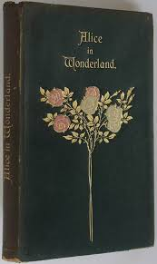 book cover alice in wonderland there are various covers for this story this one