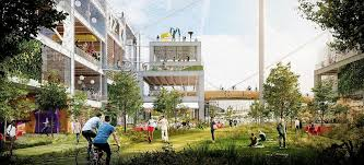 Google office munich set Philosophy Relates To Big And Weird The Architectural Genius Of Bjarke Ingels And Thomas Heatherwick Microsoft Googles New Campus Architects Ingels Heatherwicks Moon Shot