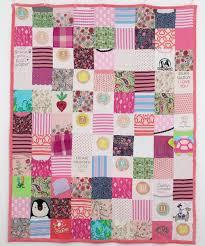Custom Baby Clothes Quilt Memory Blanket Memory Quilt & Custom Baby Clothes Quilt- 16, 64, 108 - Block - Memory Blanket - Adamdwight.com