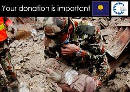 how can you help the victims of the earthquake ink and paper  earthquake